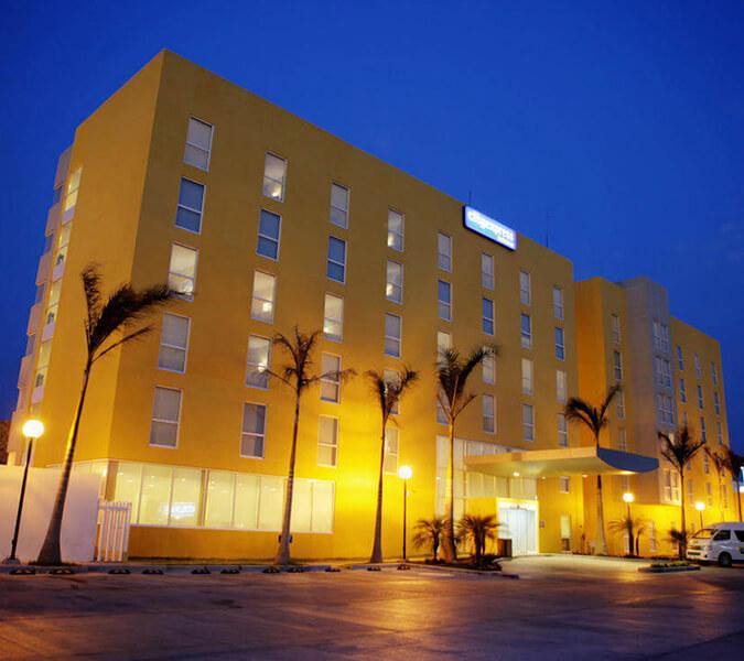 Hotel City Express Playa Norte, Ciudad del Carmen, Campeche, Mexico | Shallow and Deepwater Mexico
