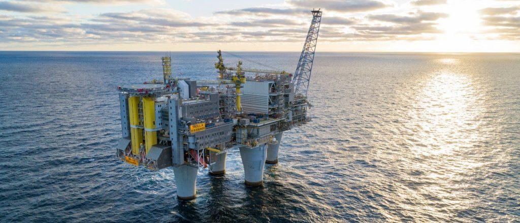 Felicitaciones a Equinor por haber comenzado la producción del Proyecto Troll fase 3 en el Mar del Norte.