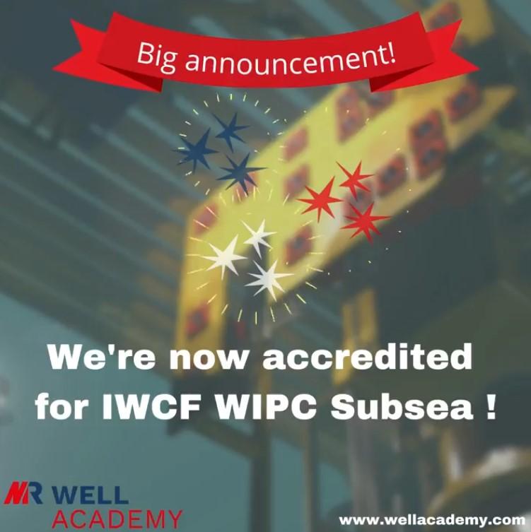 Felicitaciones a nuestro patrocinador ModuResources por obtener la acreditación para el módulo Submarino de Presión de Intervención de Pozos de IWCF.